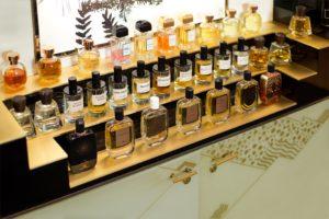 Le bar à parfums