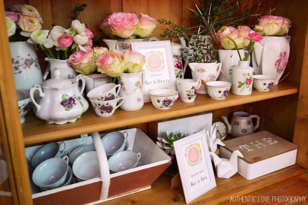 Le bar à thé