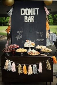 Le bar à donut's